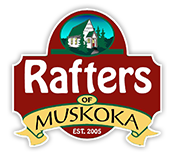 Rafters of Muskoka Sticky Logo
