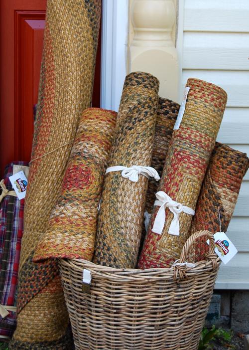rugs-in-basket